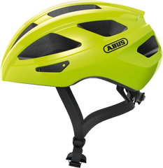 Abus Macator Helmet in Signal Yellow, side view