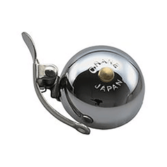 Crane Mini Suzu Made-in-Japan 45mm brass bicycle bell, chrome plated