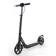 Glideco Explorer kick scooter with front and rear suspension and handbrake
