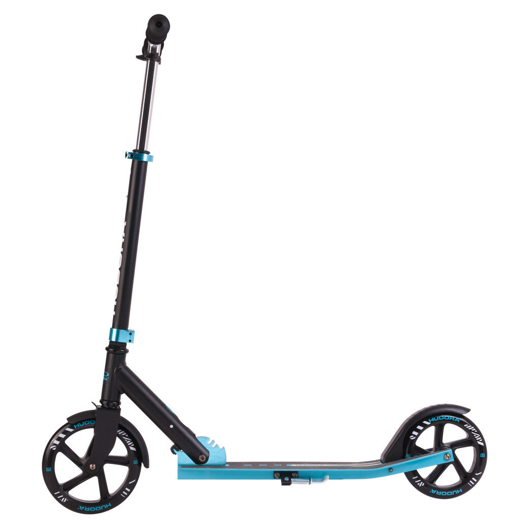 hudora kick scooter with 205mm front wheel. Black Bedroom Furniture Sets. Home Design Ideas