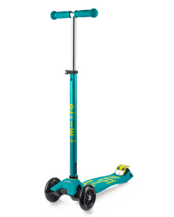 Micro Maxi Deluxe 3 wheel kick scooter for kids petrol green