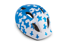 Met Buddy / Super Buddy Bicycle Helmet for Kids, White Blue Airplanes