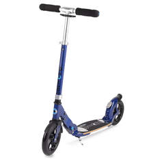 Micro Flex Deluxe 200mm kick scooter with flexible deck blue