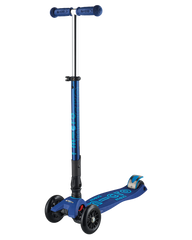 Maxi Micro Deluxe Foldable Navy Blue kick scooter