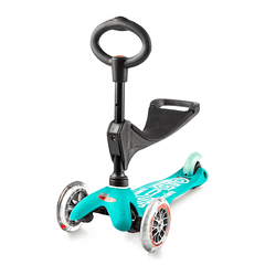 Micro Mini 3in1 Deluxe Aqua with seat