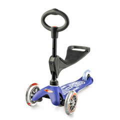 Micro Mini 3in1 Deluxe Blue with seat