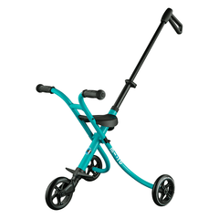 Micro Trike XL push cart pram for older kids Aqua