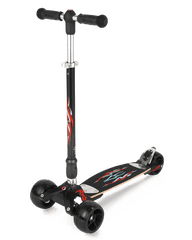 micro kickboard monster black
