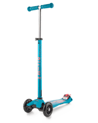 Micro Maxi Deluxe 3 wheel kick scooter for kids aqua