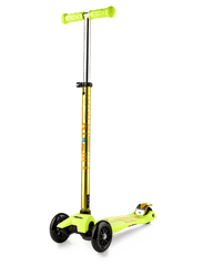 Micro Maxi Deluxe 3 wheel kick scooter for kids yellow