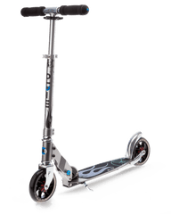 Micro Speed Plus Kick Scooter with 145mm wheels in Dolphin Grey