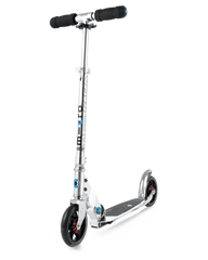 Micro Speed Plus Kick Scooter with 145mm wheels in Silver