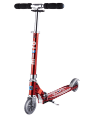 Micro Sprite Special Edition Red Stripe Kick Scooter
