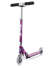 Micro Sprite Special Edition Purple Stripe Kick Scooter