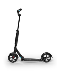 Micro Urban Black kick scooter side view