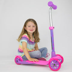 Zycom Zing Kick Scooter 3 wheel for children singapore girl rider