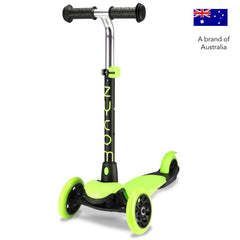 Zycom Zing 3 Wheel kick scooters for children - Green/Black