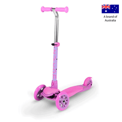 Zycom Zing 3 Wheel kick scooters for children - Pink/Purple