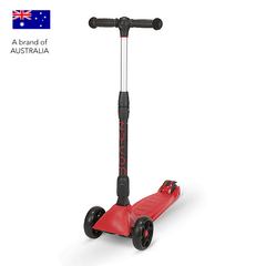 Zycom Zinger 3 wheel kick scooter for children - Red / Black