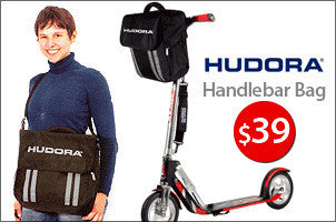 Hudora Handlebar bag for kick scooters