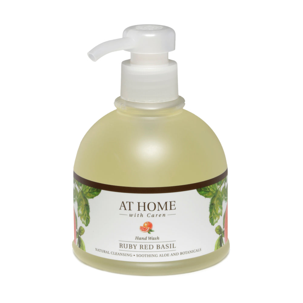 At Home Hand Wash - Ruby Red Basil - 12 oz