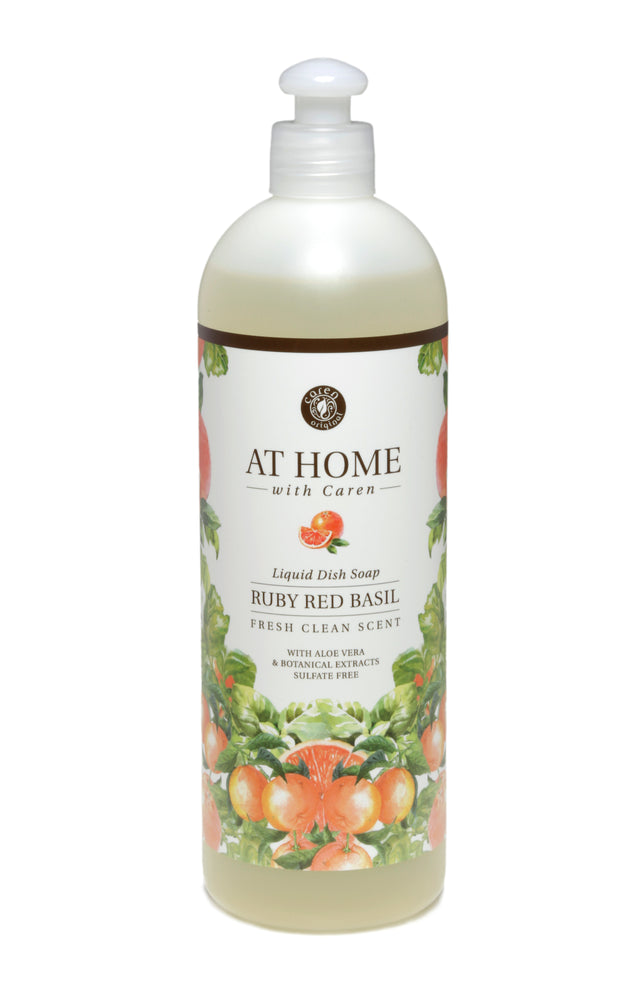 At Home Dish Liquid - Ruby Red Basil - 16oz