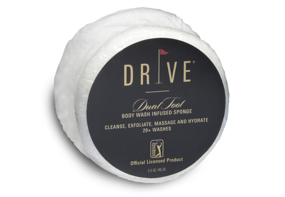 DRIVE Dual Tool Body Wash Infused Soap Sponge Case