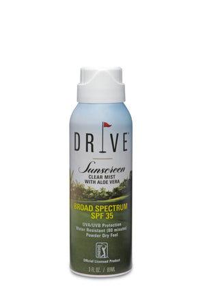DRIVE SUNSCREEN Clear Mist with Aloe Vera SPF 35 - 3 oz.