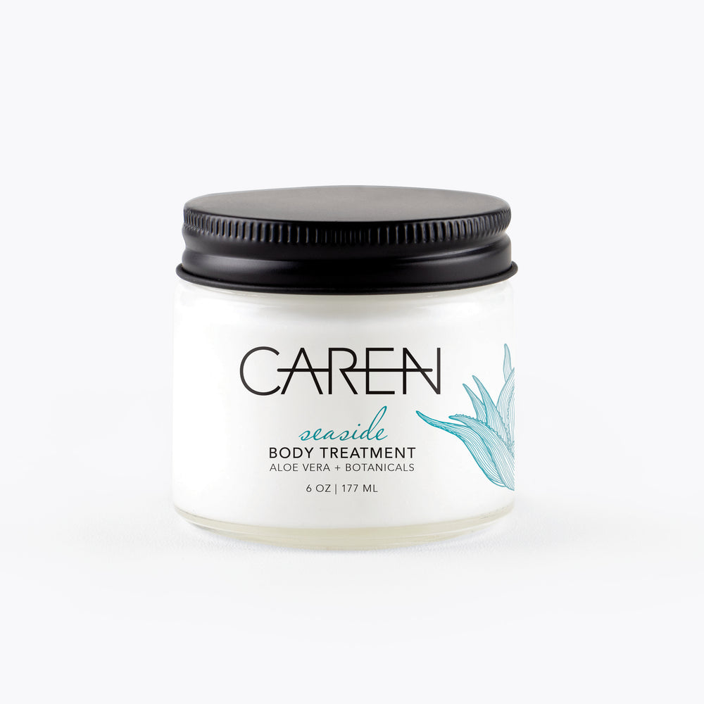 Load image into Gallery viewer, Caren Body Treatment - Seaside - 6 oz Glass Jar Case