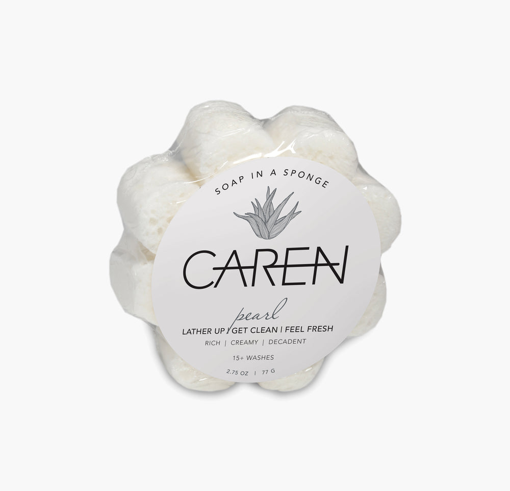 Caren Original Shower Sponge - Pearl