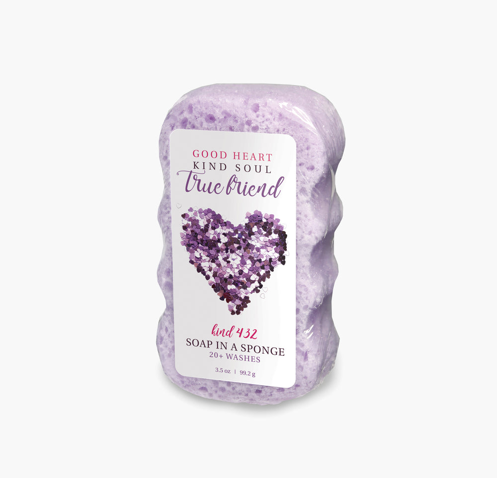 Caren Shower Soap Sponge - Kind432 True Friend