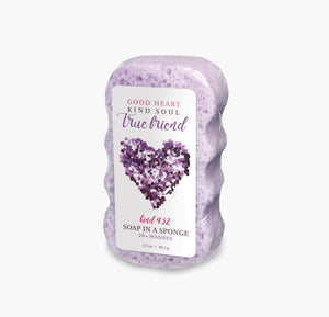 Caren Shower Soap Sponge - Kind432 True Friend Case