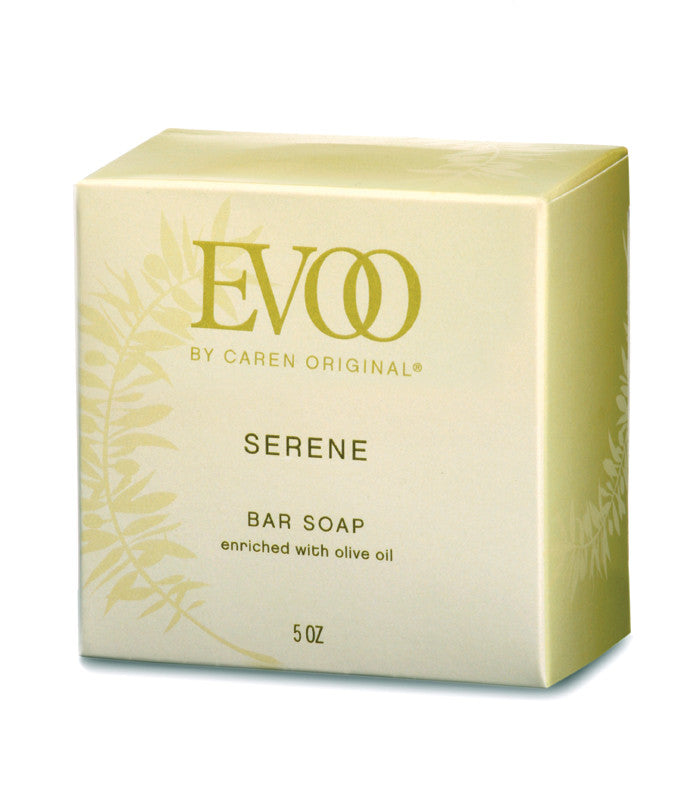 EVOO Heart Shaped Bar Soap - Serene
