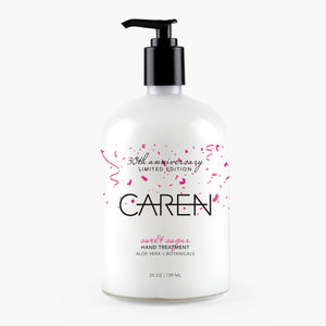 Caren Hand Treatment - Sweet Sugar - 25 oz Glass Bottle Case