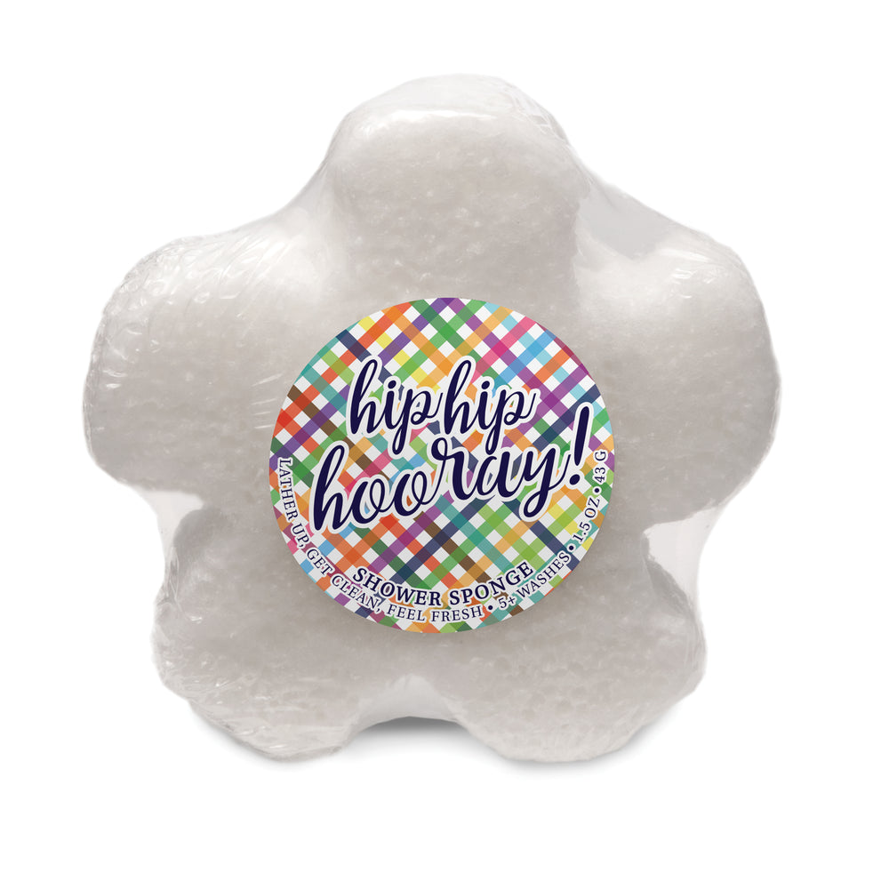 Caren Original MINI HIP HIP HOORAY Shower Sponge - Sweet Sugar