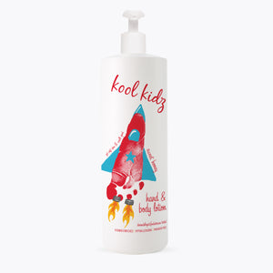 Kool Kidz Hand & Body Lotion Sweet Honey - 16 oz Rocket Ship Case