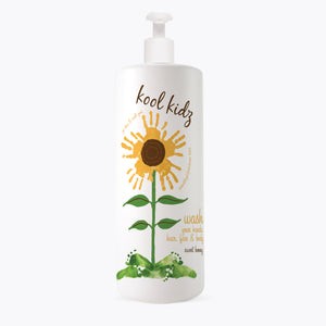 Load image into Gallery viewer, Kool Kidz Hair, Face & Body Wash Sweet Honey- 32 oz
