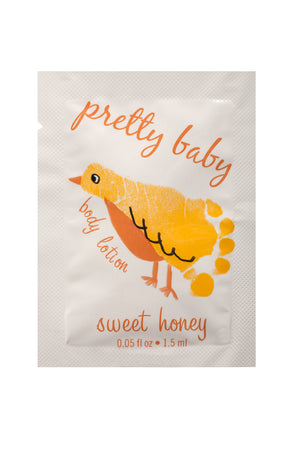 Pretty Baby Sweet Honey Body Lotion Sample Packet