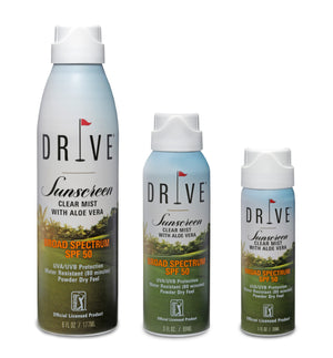 DRIVE SUNSCREEN Clear Mist with Aloe Vera SPF 50 - 6 oz
