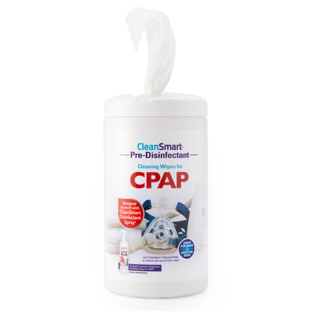 CPAP Pre-Disinfecting Cleaning Wipes
