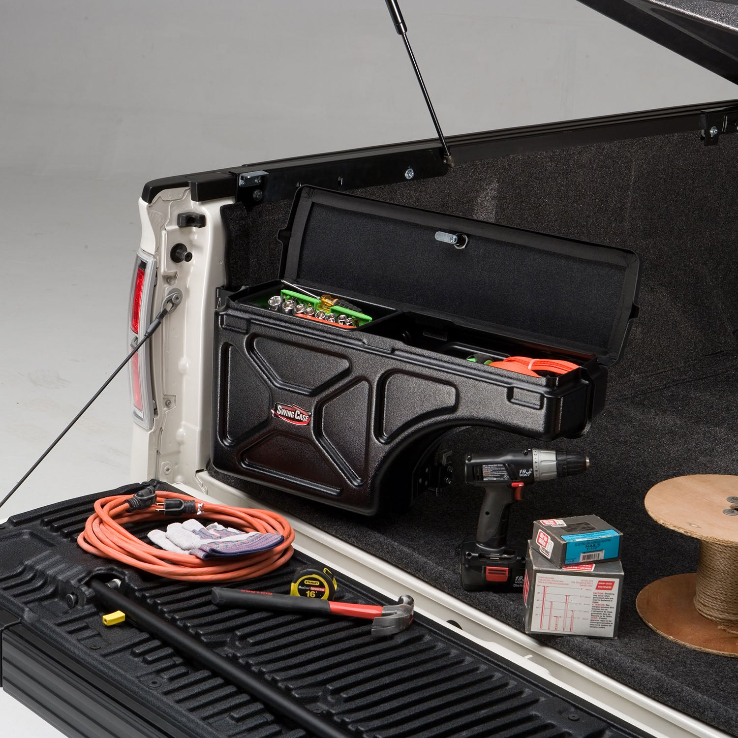 UnderCover SwingCase - Better Storage Within Your Reach.