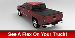 See a UnderCover Flex on your truck today!