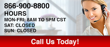 866-900-8800 Hours Mon-Fri: 8am to 5pm CST
