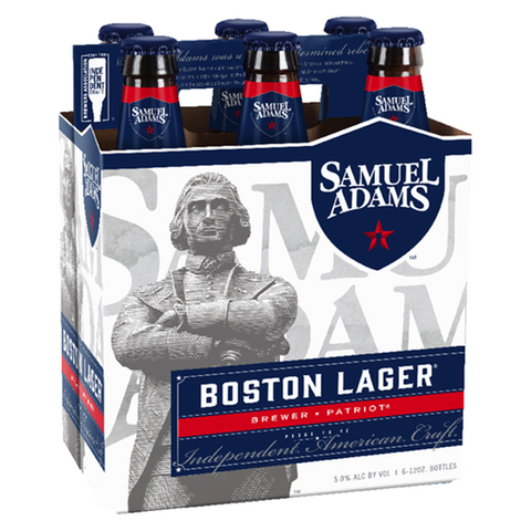 Samuel Adams Boston Lager Case (4 x 6 330ml)