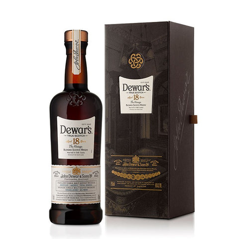 Dewar's 18 Year Vintage Blended Scotch Whisky