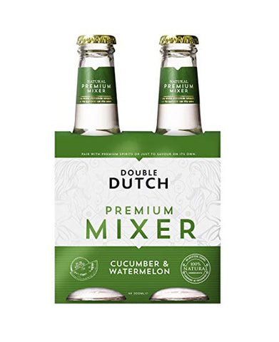 Double Dutch Cucumber & Watermelon Tonic (4-Pack)