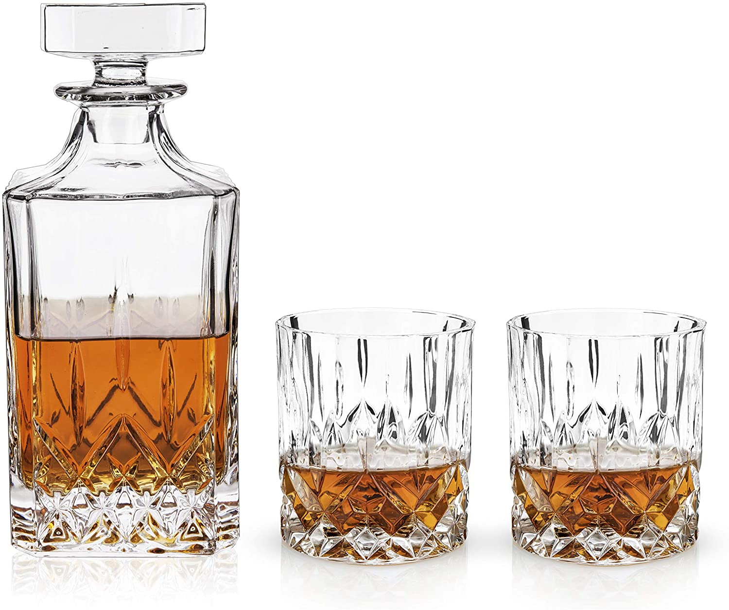 Decanter & Tumbler Set (3 Piece)