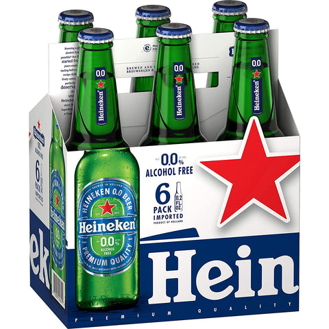 Heineken Zero Case (4 x 6 330ml) Non-Alcoholic