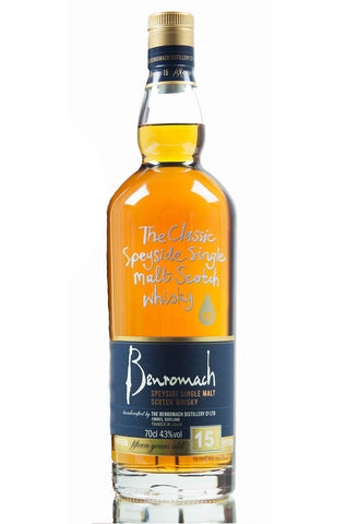 Benromach 15 year Speyside Single Malt Scotch Whisky