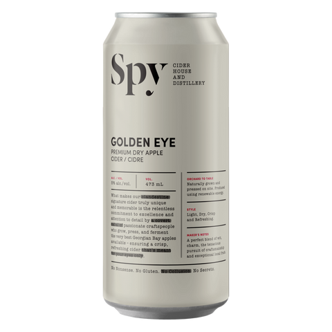 Spy Premium Dry Apple Cider (4 Pack)